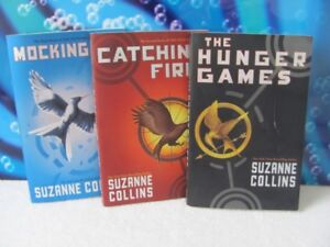 Hunger Games ~ set of 3 ~ soft cover books