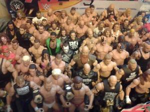 ACHAT FIGURINES DE LUTTE WWE MATTEL RECHERCHÉES