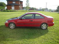 civic 98 coupe b18 avec mags sir