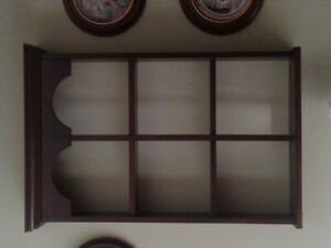 Plate display case