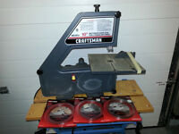"Craftsman 10"" Band Saw incl. New Blades"