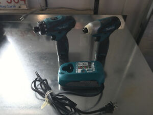 "Makita - 12V 3/8"" Impact Driver/ Drill Combo Kit"