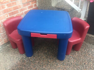 Little Tikes Table & 2 Chairs