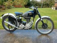AJS 16M Competition 350cc 1949 fabulous condition will grace any collection.