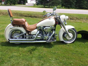 2002 Yamaha 1600 SHOW WINNER , ride and shine custom,$7500.0