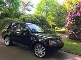 """2009 reg Range Rover Sport 3.6TD V8 HSE,99kMiles Only,19""""Alloys,Family Business"""