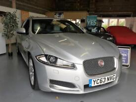 2013 63 Jaguar XF 2.2TD ( 200ps ) Sportbrake Auto, Luxury