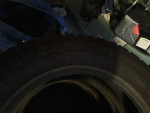 4 Snow tires - They were only used for one winter!