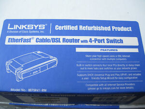 Linksys EtherFast Cable/DSL Router with 4-Port Switch Cornwall Ontario image 3