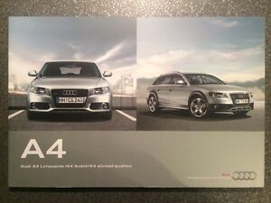 2011 Audi A4 & A4 Avant & A4 allroad quattro B8 Sales Brochure - <span itemprop='availableAtOrFrom'>Warszawa, MAZOWIECKIE, Polska</span> - 2011 Audi A4 & A4 Avant & A4 allroad quattro B8 Sales Brochure - Warszawa, MAZOWIECKIE, Polska