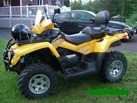 Can-am outlander max xt 650, 2009
