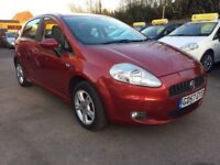 Fiat Punto 1.4 DYNAMIC SPORT (red) 2008