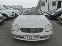 2002 Mercedes-Benz SLK SLK230 Coupe Convertible 2.3K 197 Tp5 Petrol silver Autom