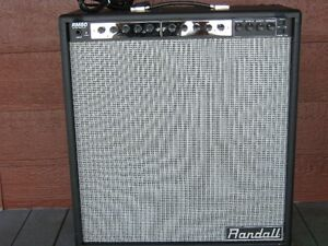 Ampli Randall RM80,80watts a lampes, 2x12 Celestion G12T-75