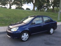 2005 TOYOTA ECHO 145.000 KM , AUTOMATIQUE ,AIR CLIMATISE, 1.5 L
