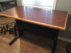 Height adjustable desk/table for sale