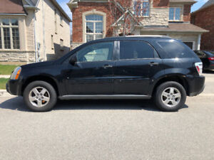 BLACK AWD 4DR CHEVY EQUINOX AS IS FOR SALE AVAIL IMM.