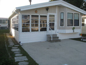 Two bedroom manufactured home available