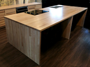 Butcher Block Counters at a Fraction of the Cost!