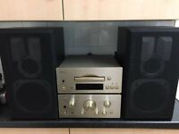 Teac h500i amp CD player jamo speakers