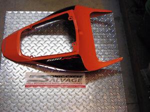 2008 Honda CBR 600RR Tail Fairing (Orange) oem