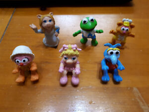 Vintage Muppets Figurine Toys (1976/1977 and 1986)