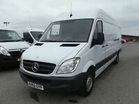 MERCEDES-BENZ SPRINTER 313CDI LWB 2.1CDI FINANCE ARRANGED 1 OWNER F/S/H