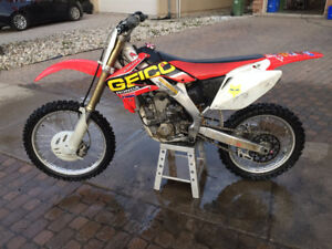 Mint Condition 2007 Honda CRF250R