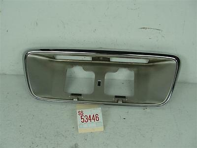 1996-1998 ACURA RL TRUNK DECK LID TAIL FINISH PANEL LICENSE PLATE LAMP TRIM 3.5