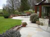 All paving, slabbing, driveways, patios, fencing, painting and decorating