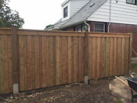Fence and Deck construction