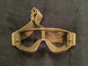 Neuf / Airsoft / Gear stock tactical safety goggles - tan