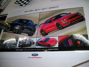 Poster / affiche Mustang Shelby GT-350R 2016 West Island Greater Montréal image 1