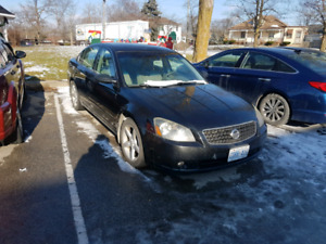 2006 Nissan Altima (not running)