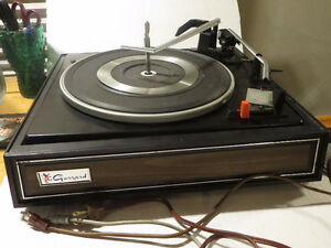 VINTAGE GARRARD 2025 CT TURNTABLE STEREO MUSIC SOUND MCM