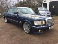 1992 Mercedes 420 SEL Full Comprehensive Service History Long Mot