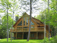 Log Home Kit from Riverbend Log Homes