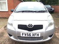 2007 Toyota yaris 998cc 3 door manual service history, low mileage, px welcome