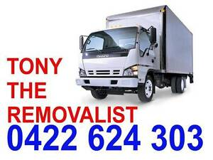 TONY THE REMOVALIST - cheap/reliable Hurstville Hurstville Area Preview