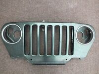 JEEP TJ GRILLE 1997-2006 MAN CAVE DECORATION