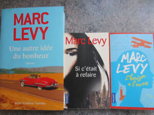 3 romans de Marc Levy