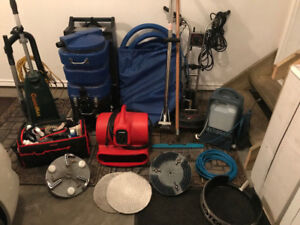 Carpet Cleaning Equipment - Over $10,500 worth of equipment