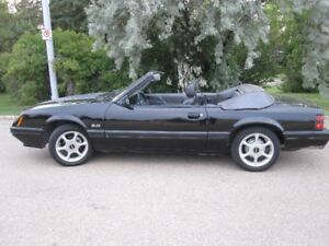 1985 Mustang GT Convertable