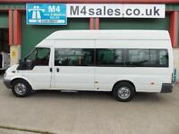 Ford Transit 12 Seat or 3 Wheel Chairs Minibus