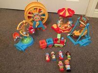 Happy Land Fairground toys