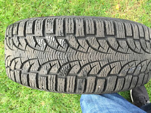 Pirelli 4 winter tires 225/50/17R West Island Greater Montréal image 1