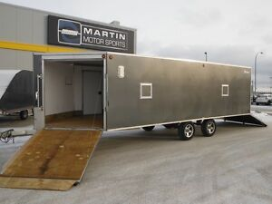 2008 Triton XT228 Aluminum Enclosed Snowmobile Trailer
