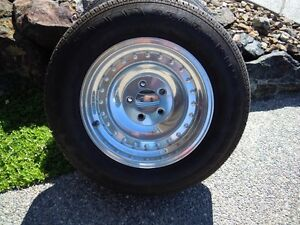 Aluminum Wheels With Tires