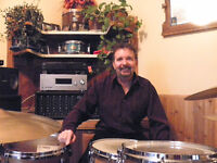 Drum lessons in your home