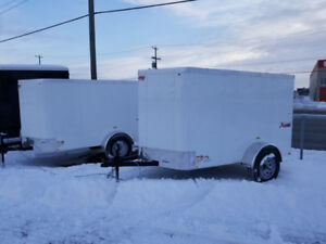 CARGO TRAILER BLOW OUT!! 5X10 V NOSE ONLY $2999